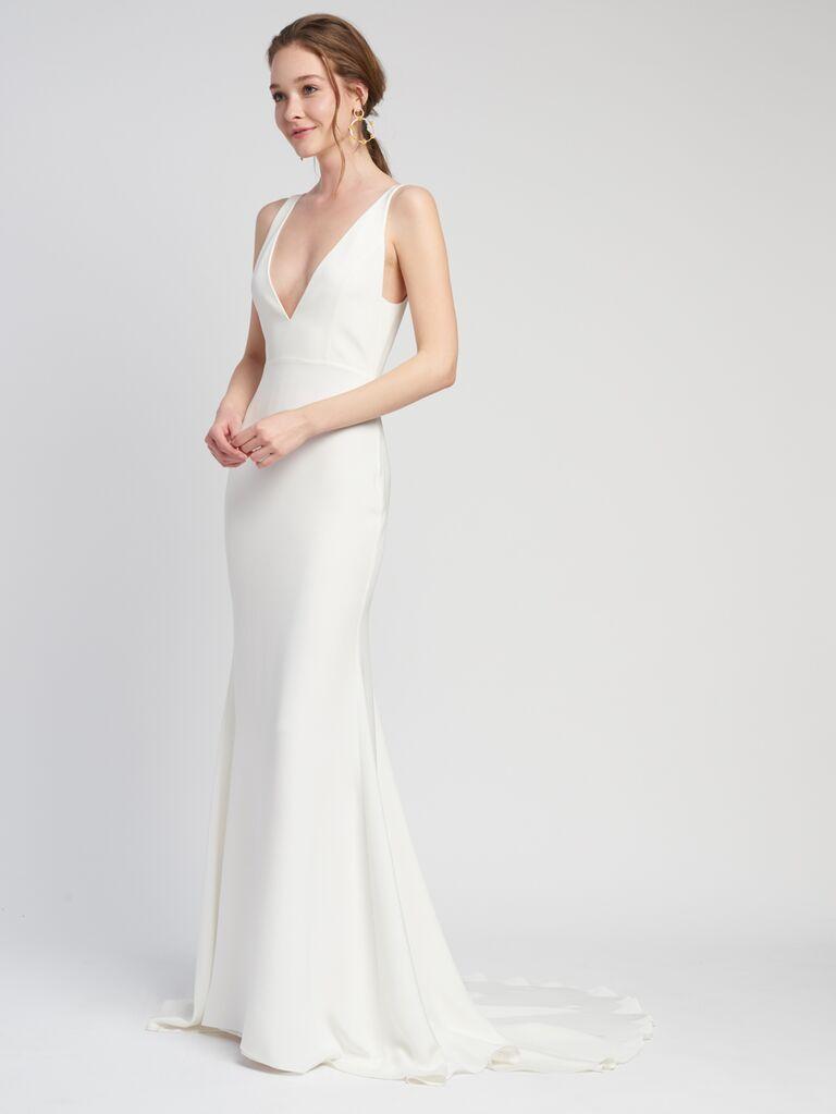 Alexandra Grecco beach wedding dress