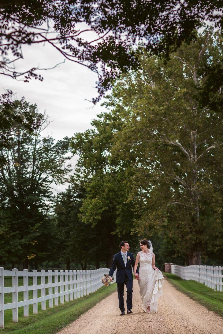 Erika and Jake Vintage-Inspired Wedding in Virginia