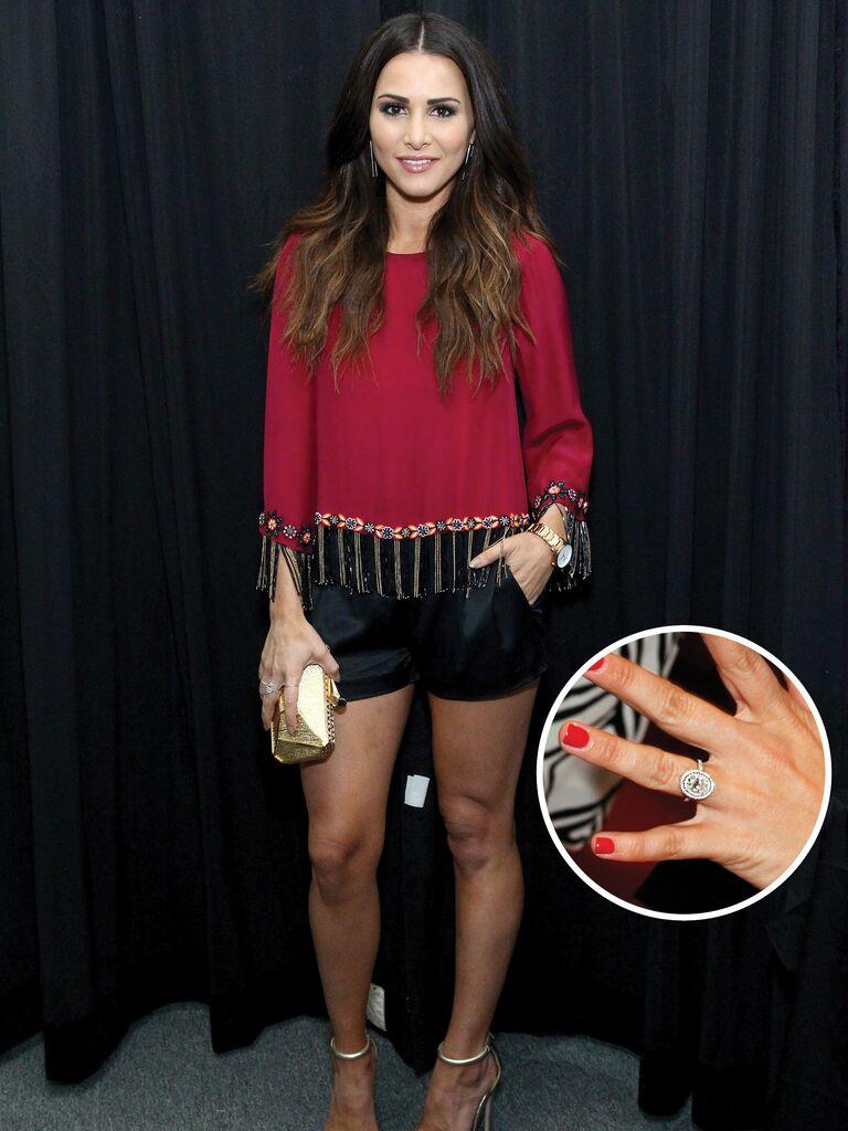 Andi Dorfman's engagement ring