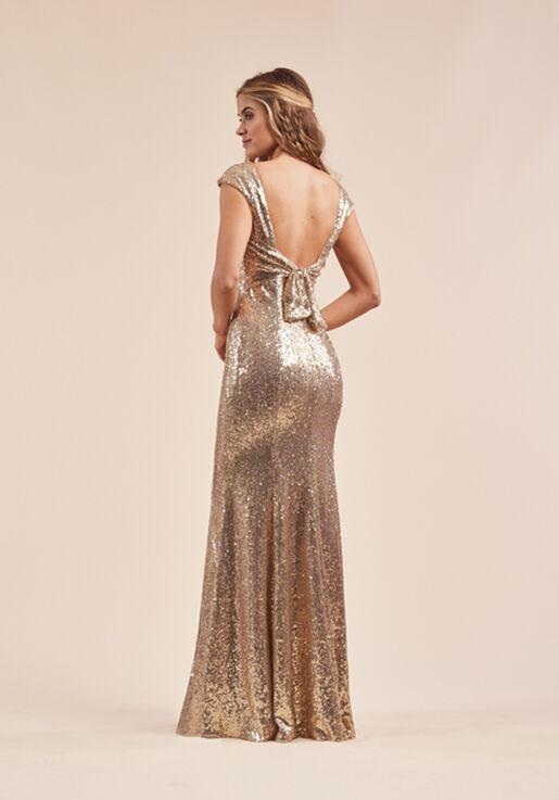 B2 Bridesmaids by Jasmine B213063 Bateau Bridesmaid Dress