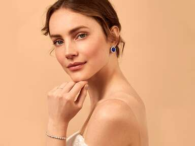 BaubleBar X The Knot collaboration best bridal jewelry