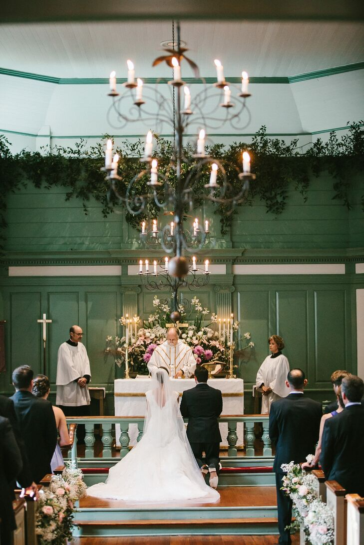 Our ceremony, was held in a small Episcopalian chapelrnthat past family members where married in also.