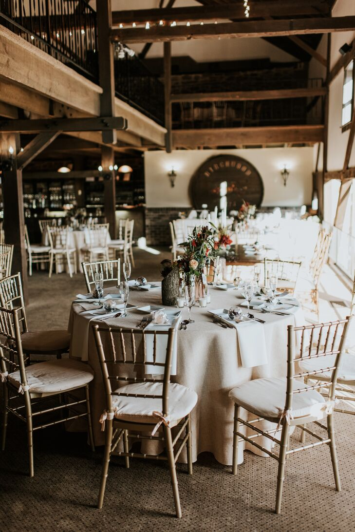 Reception at Barn on Bridge in Collegeville, Pennsylvania