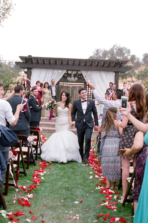 Vineyard Wedding Recessional
