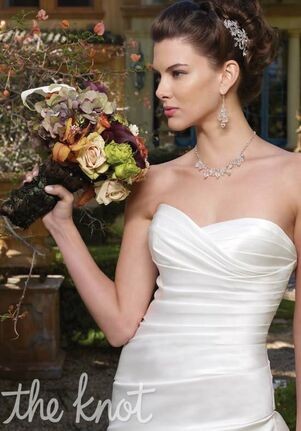 Casablanca Bridal 1959 A-Line Wedding Dress