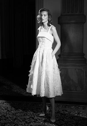 Viktor&Rolf Mariage LACE FLOWER TEA-DRESS A-Line Wedding Dress