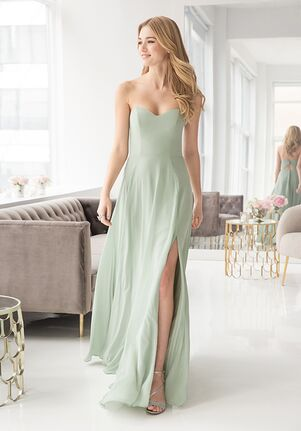 Hayley Paige Occasions 5902 Strapless Bridesmaid Dress