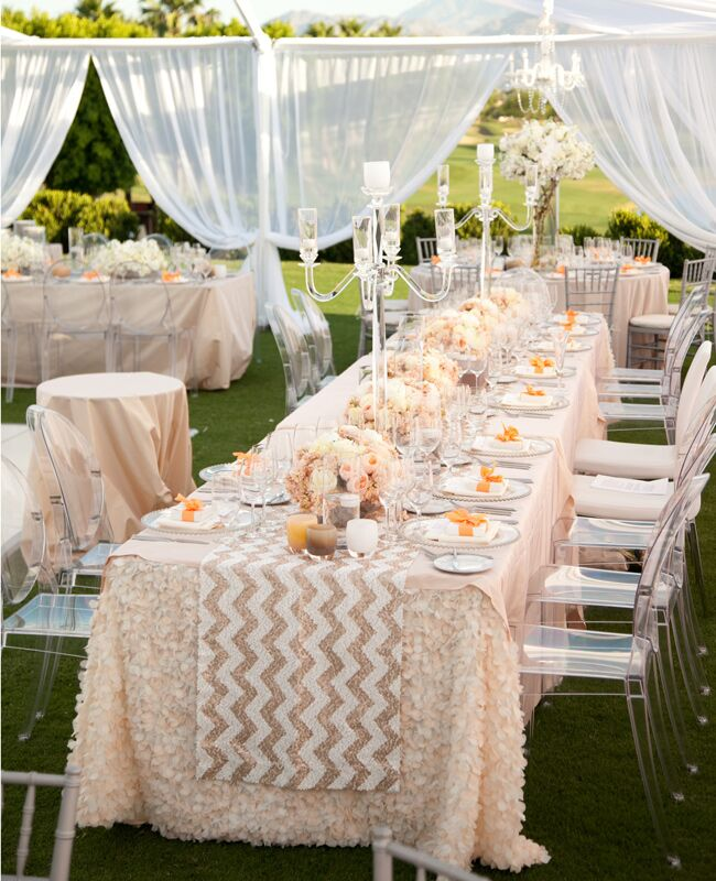 Rose Wedding Ideas: 6 Rose Gold Metallic Wedding Ideas