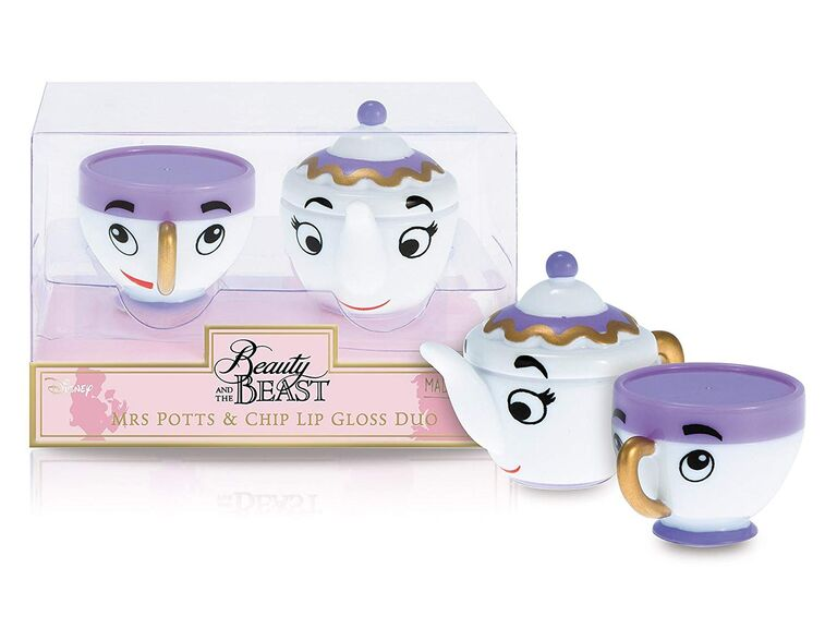 Disney Beauty and the Beast lip gloss for bachelorette party