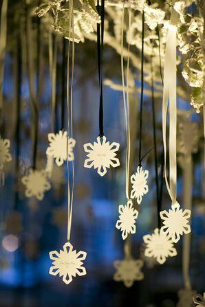 Snowflake Escort Cards