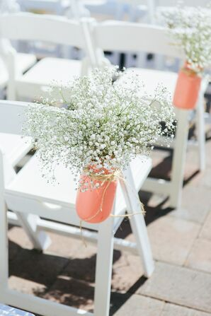 Baby's Breath Aisle Decoration