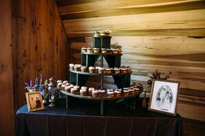 DIY Cupcake Wood Cake Stand