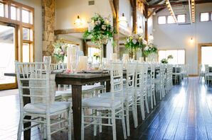 White Reception Chairs