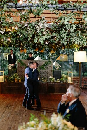 Couples First Dance at Summerour Studio