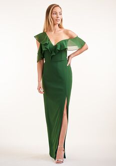 JASMINE P226008 Off the Shoulder Bridesmaid Dress