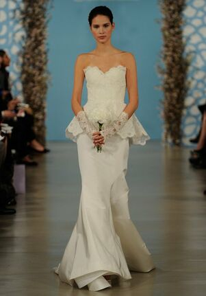 Oscar de la Renta Bridal 2014 Look 16 Mermaid Wedding Dress