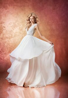 Hayley Paige Leigh 6658 A-Line Wedding Dress