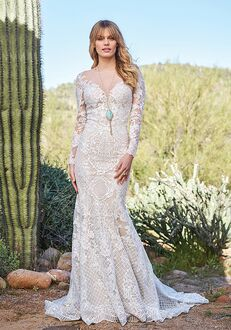 Lillian West 6511 Mermaid Wedding Dress