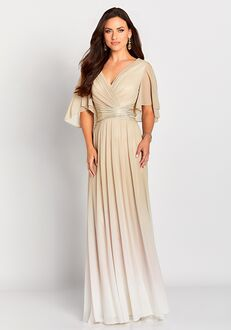 Cameron Blake 119657 Champagne Mother Of The Bride Dress