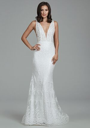 Tara Keely by Lazaro 2803 Sheath Wedding Dress