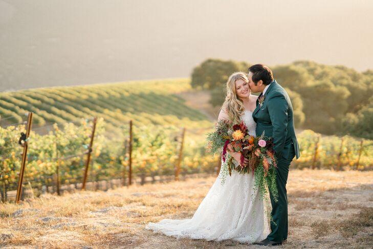 Strapless Lace A-Line Wedding Dress