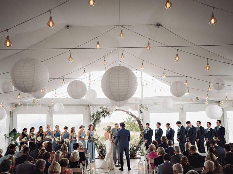 Hamptons wedding venue in Westhampton Beach, New York.