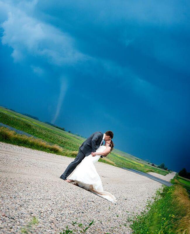 Tornado couple shot.