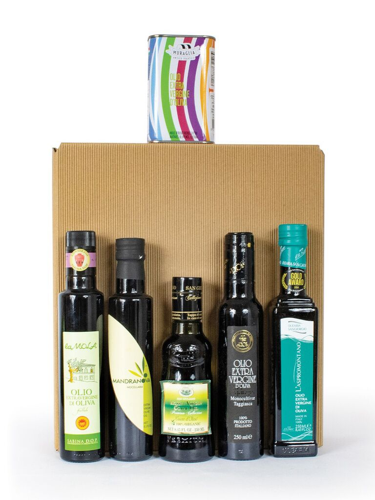 Olive oil gift set for mother-in-law