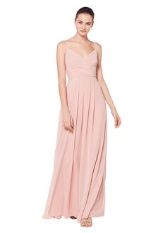 Bill Levkoff 7072 V-Neck Bridesmaid Dress