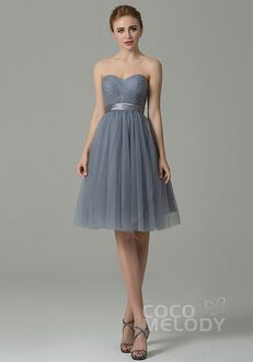 CocoMelody Bridesmaid Dresses COZM15016 Sweetheart Bridesmaid Dress