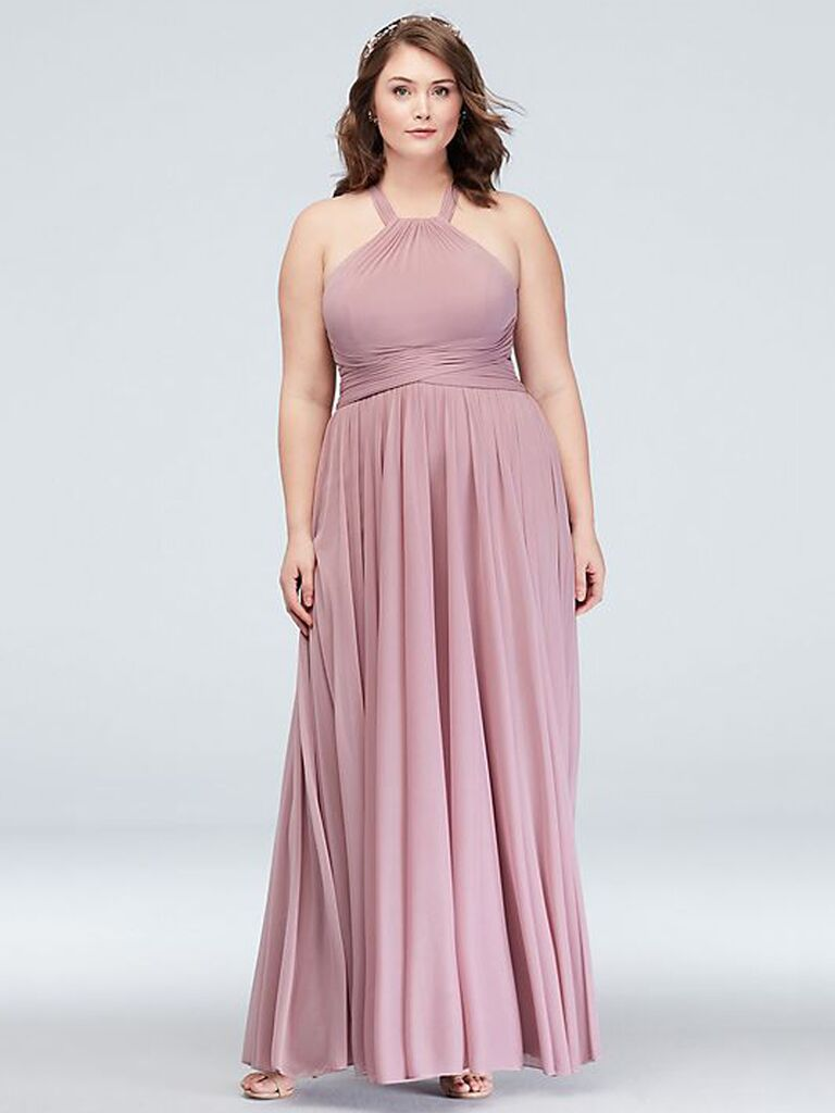 787f5b104a65 40 Plus-Size Bridesmaid Dresses That Are Truly Stunning