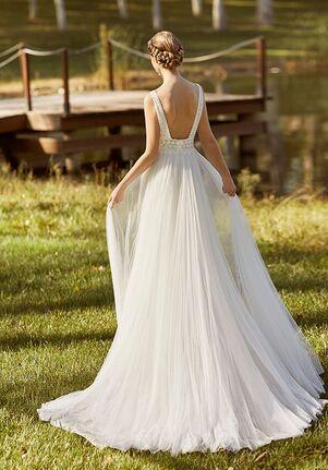 Aire Barcelona KENJI Sheath Wedding Dress