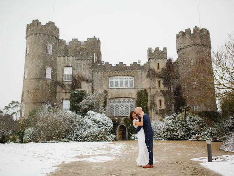 A Romantic Castle Engagement Photo Shoot in Dublin, Ireland