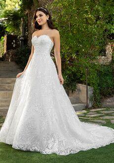 Casablanca Bridal 2414 Reagan Ball Gown Wedding Dress