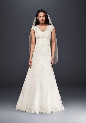 David's Bridal David's Bridal Collection Style T3299 A-Line Wedding Dress