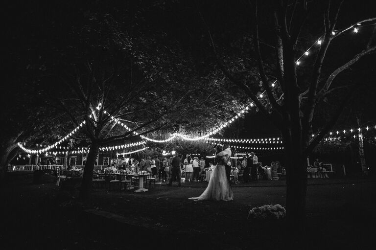 Audrey and Jeremy Roloff dance at their wedding