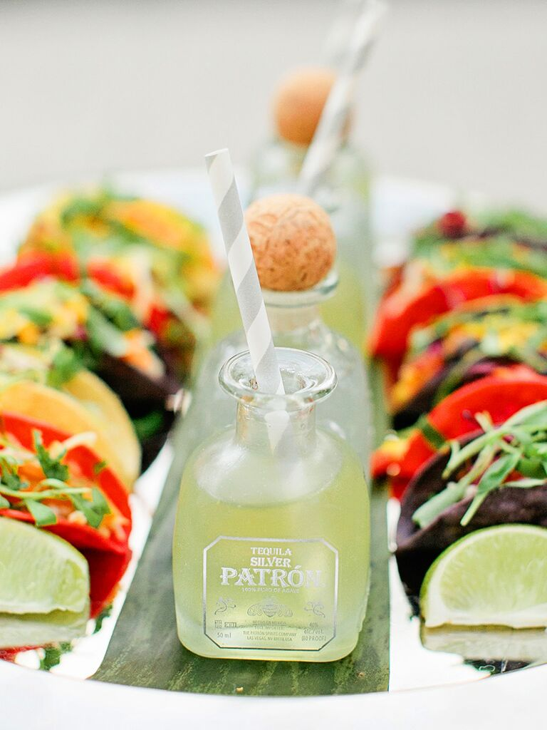 Taco And Tequila Paired Wedding Reception Etizer
