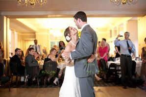Married Couple Reception First Dance