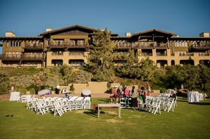 Lodge at Torrey Pines Ceremony Setup