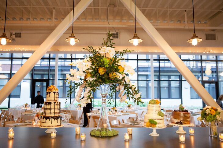 Modern Wedding Reception at Greenhouse Loft