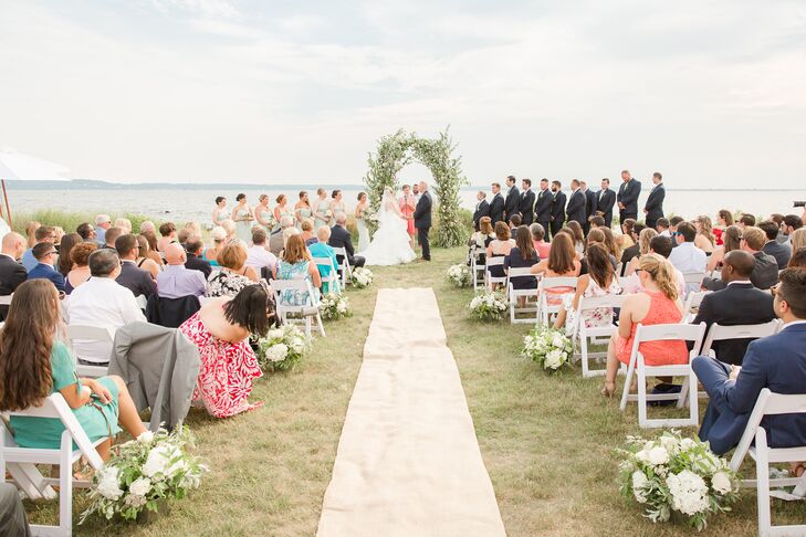Elegant Seaside Ceremony