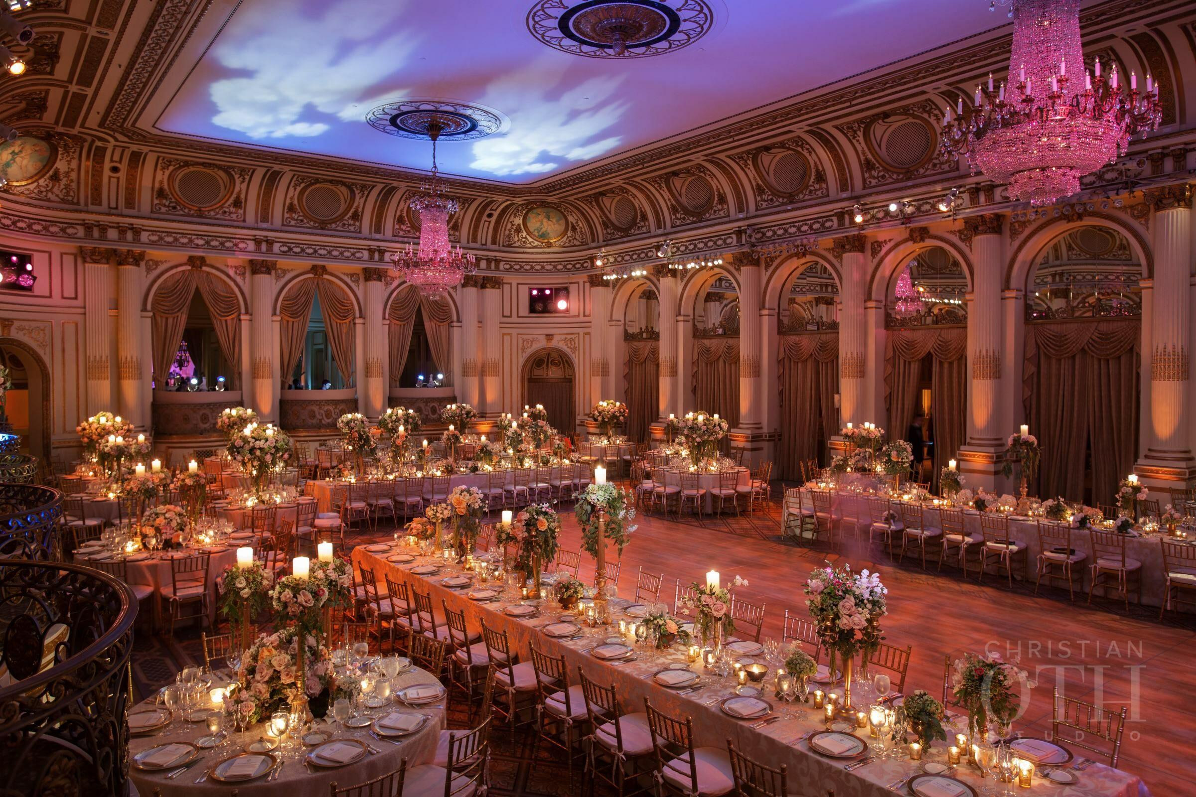 The Plaza Hotel Reception Venues New York Ny