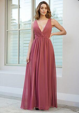 B2 Bridesmaids by Jasmine B233059 V-Neck Bridesmaid Dress