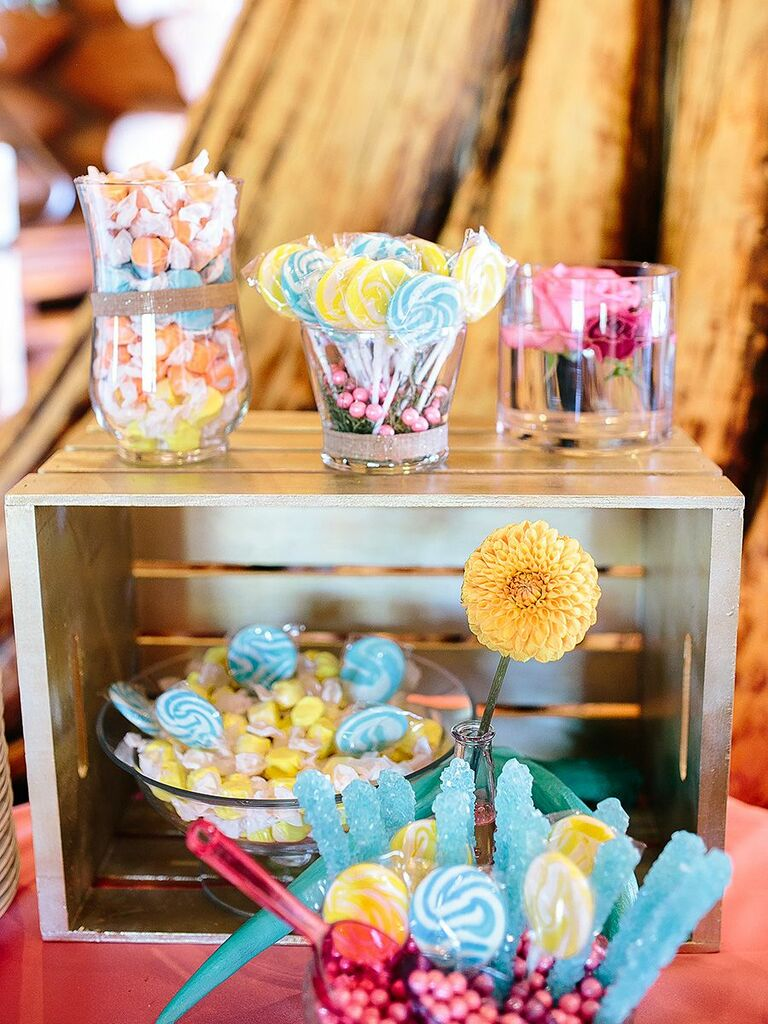 Terrific Wedding Candy Station Ideas And How To Make Your Own Beutiful Home Inspiration Papxelindsey Bellcom