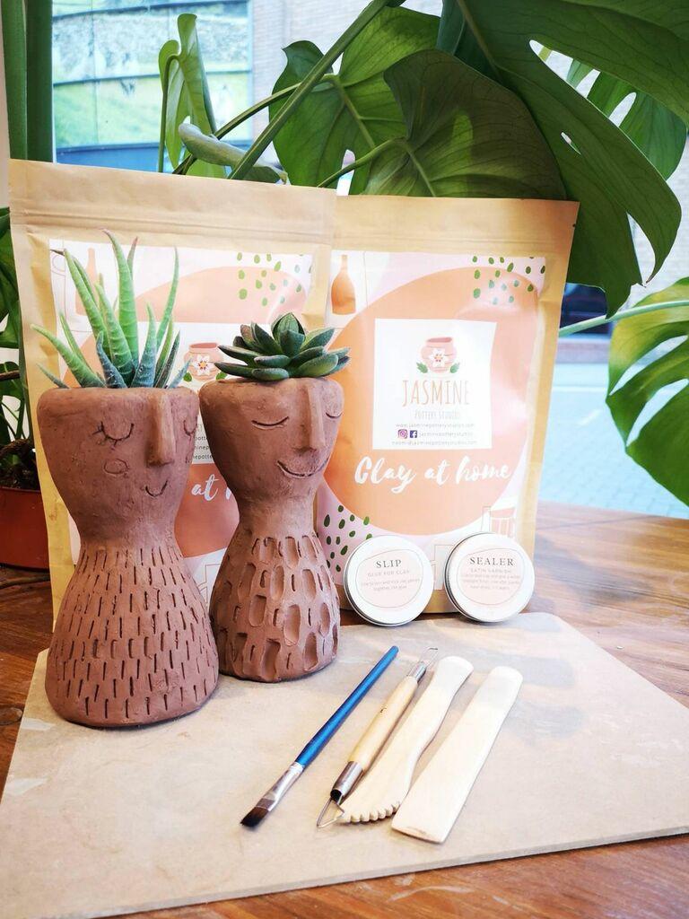 DIY pottery kit