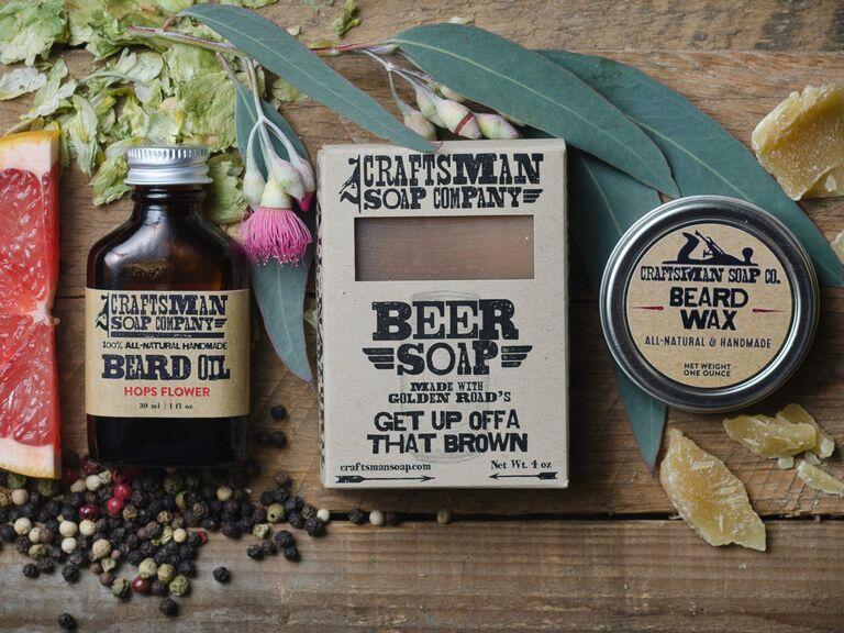 Beard wax gift set for 16th anniversary
