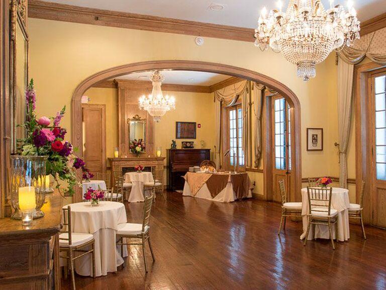 Wedding venue in New Orleans, Louisiana.