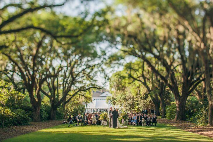 Historical Woodland Ceremony Venue in Charleston, South Carolina