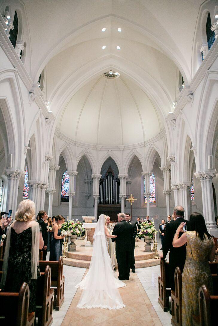 The Ceremony At St Thomas Of Villanova Church