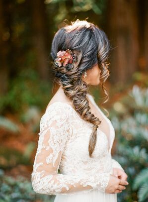 Romantic Bride with Fishtail Bride